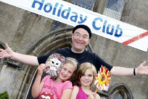 Falkirk working parents 'could gain £2,000 per child' for holiday clubs