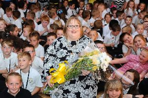 Dunipace Primary School headteacher Robina McAnish has retired after working in education for four decades