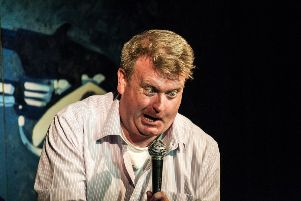 Comedy 'genius' Raymond Mearns brings his solo show to Falkirk