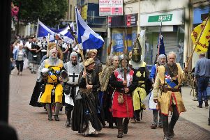 Historic Trinity Church at heart of Battle of Falkirk commemorations