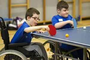 Sporting chance for Falkirk youngsters with additional needs