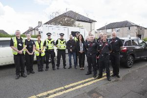 Police continue Camelon Street a Week scheme following fires and fatality