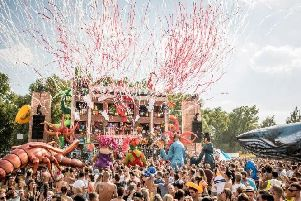 Police warning to Elrow Town concert revellers