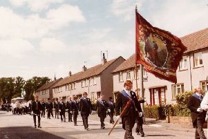 Redding Free Colliers parade is a link with miners' strike