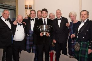 Flanker Lewis Wynne, from Falkirk, named Young Player of the Year at London Scottish
