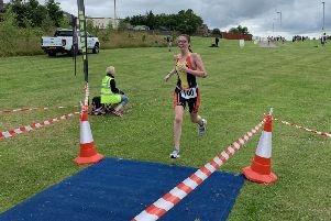 Chantel Thomson, a pupil at Falkirk High School, finished second in her age category and gained selection for the GB age group team for the ITU European Sprint Triathlon Championships in Malmo, Sweden in 2020.