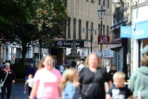 Things are certainly looking up for      Falkirk's 'rising star' High Street