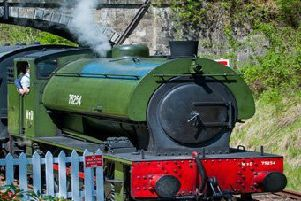 Weekend Bo'ness train special features 'Railway Children' coaches