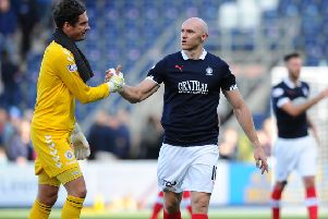 Sammon's double is enough for Falkirk in the end as the Bairns hold on to go top of the league