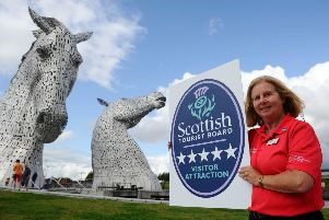 Helix and Kelpies win top tourist rating for third year