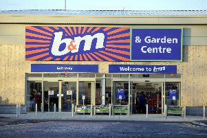 B&M in Stenhousemuir has been granted an alcohol licence