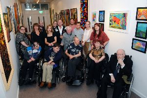 First exhibition for care group opens in Falkirk