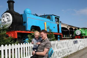 Thomas the Tank Engine is in Bo'ness this weekend