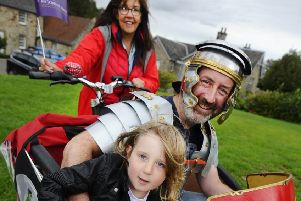 History brought to life during Falkirk's Big Roman Week
