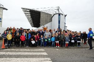 Kelpies to Kick-Off walking event at Falkirk Stadium on Saturday, September 14. Picture by Michael Gillen.