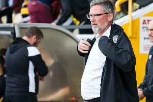 "The Hearts boss is coming under increasing pressure at Tynecastle. As Hearts stumbled to qualification in their draw with East Fife some fans chanted ""Heart of Midlothian, we're in the wrong hands""."