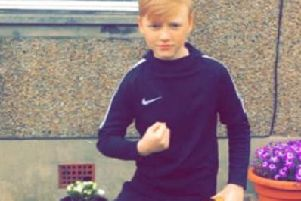 Leon Carlow has hopes on winning the nationwide talent search, after his mum saw the details on The Falkirk Herald website.