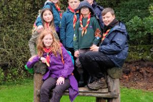 Cubs and Scouts from the 51st Dennyloanhead camped with groups from across Scotland at the Fast Forward camp earlier this month.