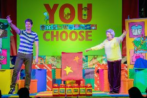 Fun family show 'You Choose' is heading for Falkirk