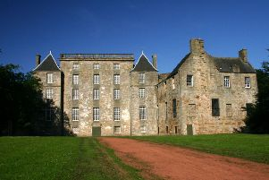Kinneil House - perfect for a creepy Hallowe'en tour.