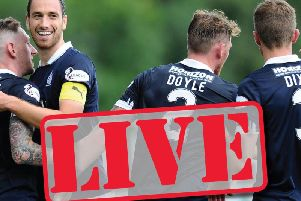 Live coverage of Falkirk v Peterhead