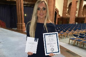 Future looking bright for Falkirk nurse-turned top law student Sarah