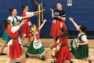 Falkirk woman raises £1600 for charity at sponsored highland dance event