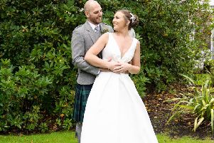 Wedding of the week: Bo'ness couple Sara Paton and Ross Bowden