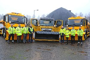 Gritney Spears joins Falkirk Council's gritting fleet