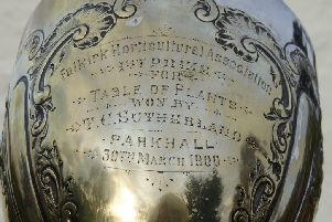Quest to find Falkirk family link to a historic trophy