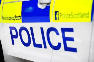 Police searching for youths who hurled eggs at van outside Falkirk shop