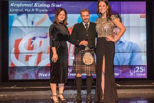 Falkirk young entrepreneur is a rising star