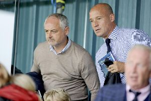 Ray McKinnon and Darren Taylor