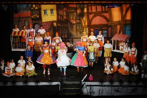 Grangemouth audience had a ball at Cinderella opening night