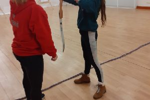Bonnybridge Scout leaders worked to gain archery qualifications.