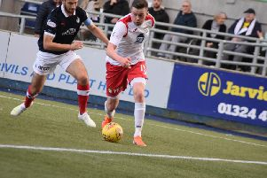 Falkirk travel to meet the Fifers on Saturday afternoon.
