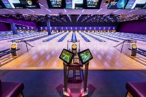 Prepare to be bowled over by Camelon Tenpin's striking refurbishment