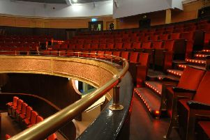 The Hippodrome Cinema in Bo'ness which hosted  the Beavers' special night out.
