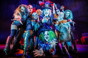 Shock, horror! Scary circus in Falkirk to mark 25 years of terrific, tantalising terror