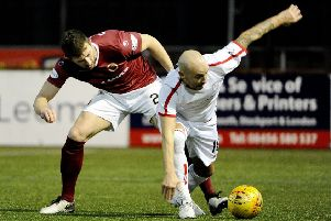 Action from Saturday's draw (Pic by Alan Murray)