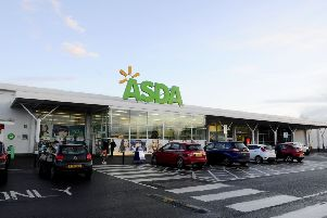 Robertson stole a Christmas tree and food and alcohol from Asda in Grangemouth