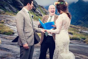 Humanist weddings are becoming increasingly popular in Scotland (Photo courtesy of Humanist Society Scotland)