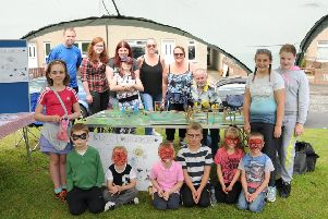 Children join in the fun at Warout Walk fun day organised by Our Place Auchmuty on Sunday, September 4.