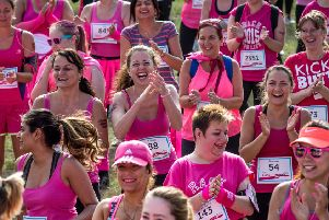 Fifers are urged to sign up for the Race for Life and  'Race for Life Family 5k' this year. Pic: Liam McAvoy.