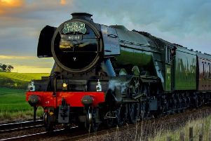 Flying Scotsman is coming to Fife this May. Pic: Emma McIntyre.