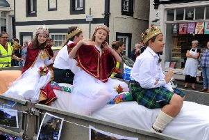 Aberdour festival is well under way. Picture: David Wardle