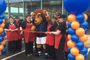 Video: Special Guest opens new Kirkcaldy Greggs