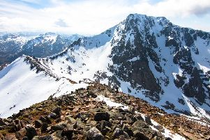 Ben Nevis via the Carn Mor Dearg Arete is one of Mollie Hughes' favourite Scottish walks (Photo: Shutterstock)