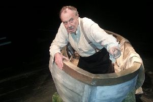 Malcolm Rennie in his one-man show Shackleton's Carpenter