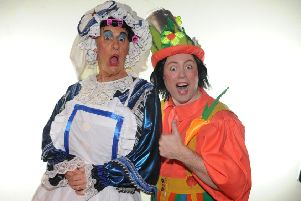 Billy Mack and Alan Orr, Sleeping Beauty, Alhambra Theatre
